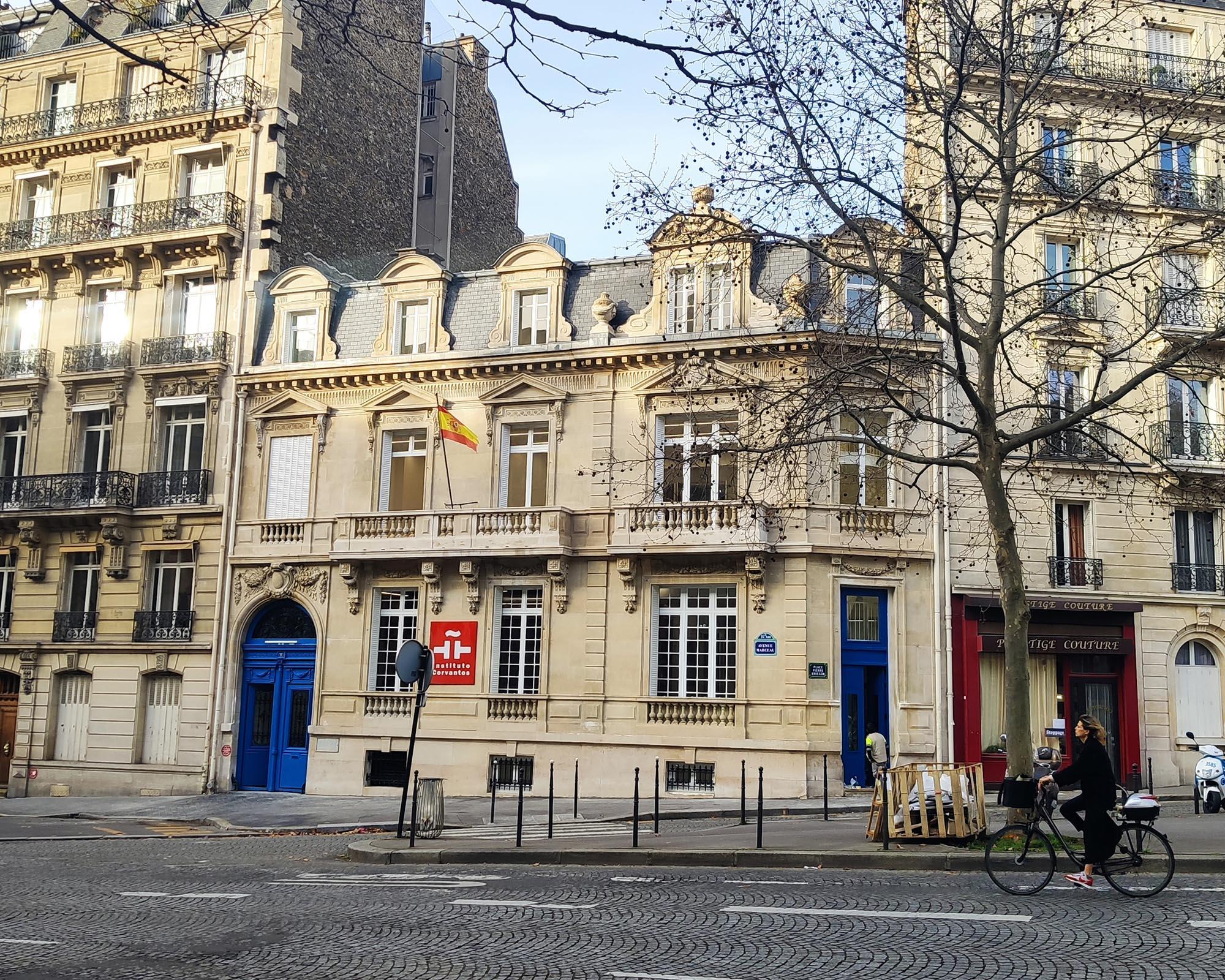 Institut Cervantes Paris, Avenue Marceau