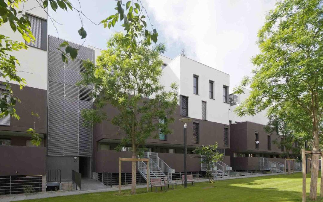 Euralille, «Le Bois Habité» 24 housing units