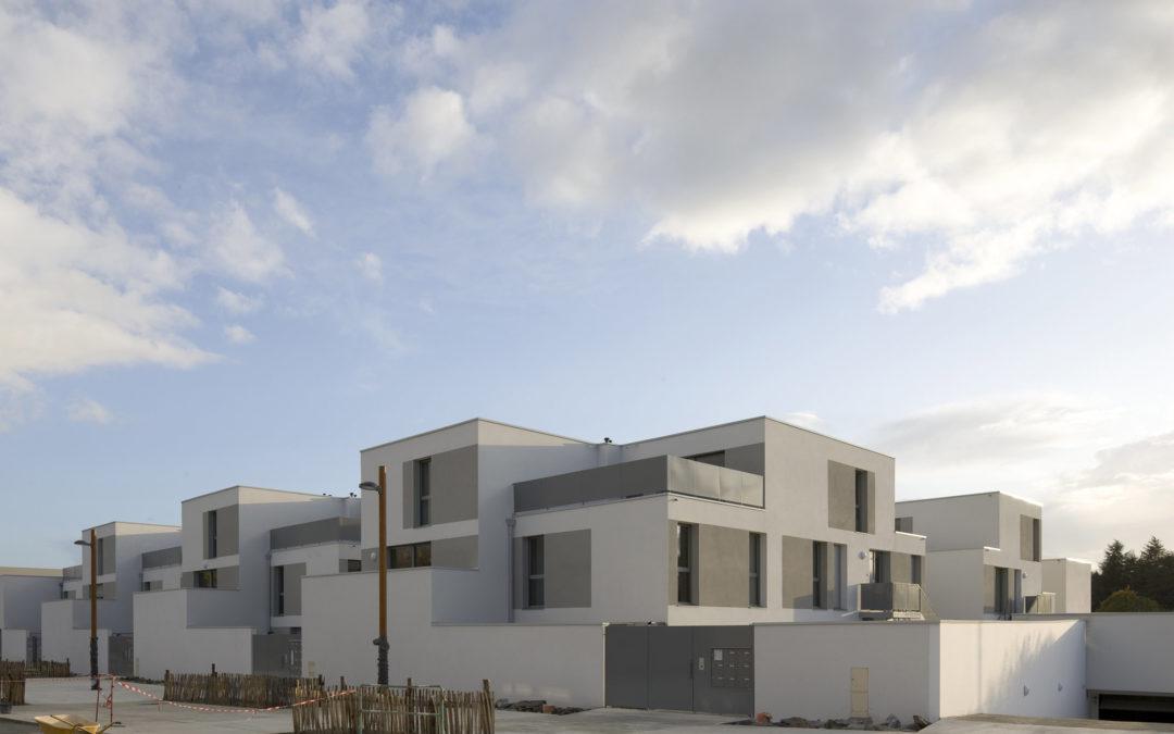 50 housing units in Bottière-Chenaie