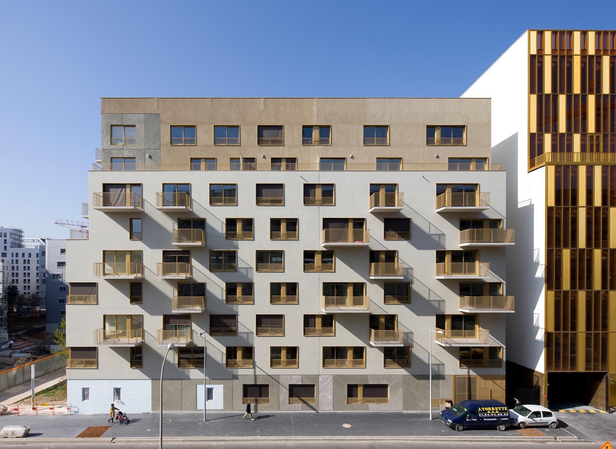 Macrolot A2, 64 housing units in Zac Seguin